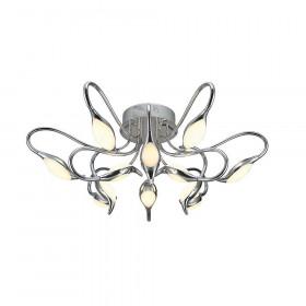 Светильник потолочный IDLamp Oktopia 295/9PF-LEDChrome