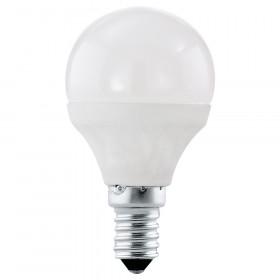 Светодиодная лампа Eglo P45 E14 4W (соответствует 40W) 320Lm 4000K (белый) 10759