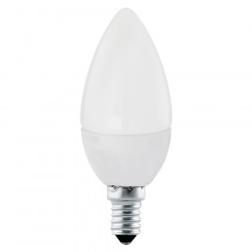 Светодиодная лампа свеча Eglo E14 4W (соответствует 40W) 320Lm 4000К (белый) 10766