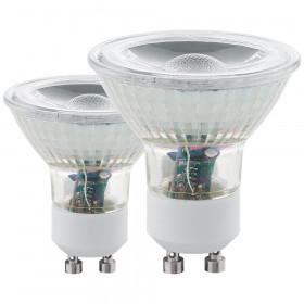 Cветодиодная лампа Eglo COB GU10 5W (соответствует 5W) 400Lm 3000К (теплый белый) 11511