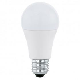Светодиодная лампа Eglo 220V A60 E27 10W (соответствует 100 Вт) 806Lm 4000K (белый) 11481