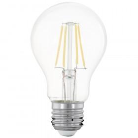 Светодиодная лампа филаментная Eglo 220V A60 E27 4W (соответствует 31Вт) 350Lm 2700K (теплый белый) 11491