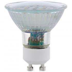 Светодиодная лампа Eglo 220V SMD GU10 5W (соответствует 50 Вт) 400Lm 3000K (теплый белый) 11535