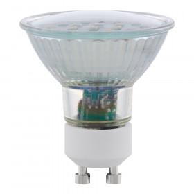 Светодиодная лампа Eglo 220V SMD GU10 5W (соответствует 50 Вт) 400Lm 4000K (белый) 11536