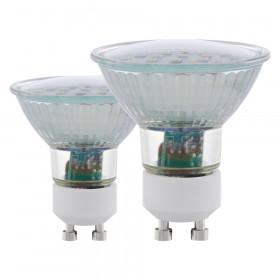 Cветодиодная лампа Eglo SMD GU10 5W (соответствует 50W) 400Lm 3000К (теплый белый) 11537