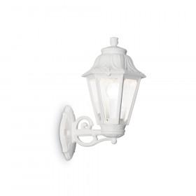 Уличный настенный светильник Ideal Lux Anna AP1 BIG BIANCO