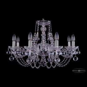 Люстра Bohemia Ivele Crystal 1406/8/240/Ni/Balls