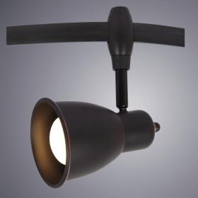 Трековый светильник Arte Rails Heads A3058PL-1BK