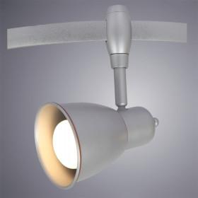 Трековый светильник Arte Rails Heads A3058PL-1SI