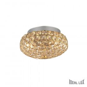 Светильник потолочный Ideal Lux King PL3 ORO