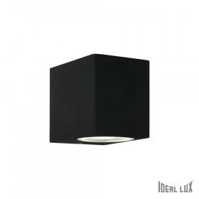 Уличный настенный светильник Ideal Lux Up AP1 NERO