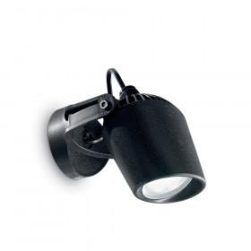 Уличный настенный светильник Ideal Lux Minitomi AP1 NERO