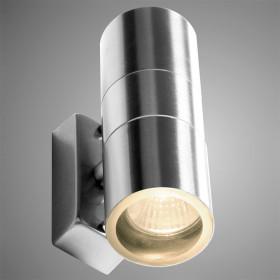 Уличный настенный светильник Arte Mistero A3202AL-2SS
