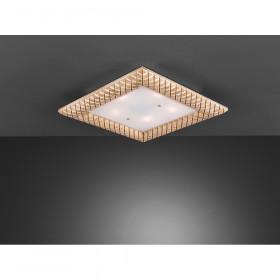 Светильник потолочны La Lampada PL 164/5.17 Wood Ivory