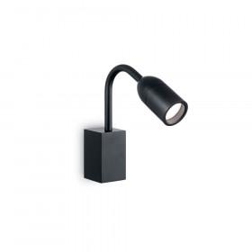 Уличный настенный светильник Ideal Lux Loop AP1 NERO