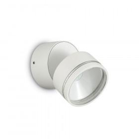 Уличный настенный светильник Ideal Lux Omega ROUND AP1 BIANCO