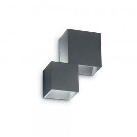 Светильник уличный настенный Ideal Lux Rubik AP2 ANTRACITE