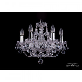 Люстра Bohemia Ivele Crystal 1406/6/141/Ni/Balls