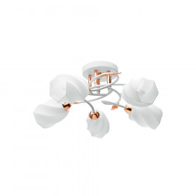 Светильник потолочный IDLamp Angelica 384/5PF-Whitegold