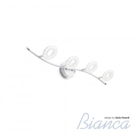 Спот IDLamp Bianca 390/4PF-LEDWhitechrome