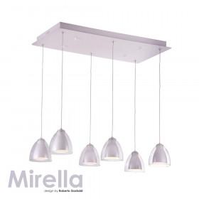 Люстра IDLamp Mirella 394/6-LEDWhite