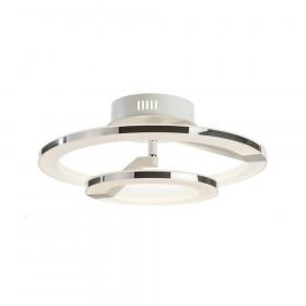 Светильник потолочный IDLamp Jenevra 397/2PF-LEDWhitechrome