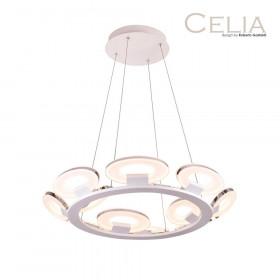 Люстра IDLamp Celia 399/12-LEDWhitechrome