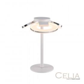 Лампа настольная IDLamp Celia 399/3T-LEDWhitechrome
