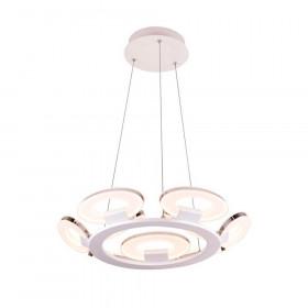 Люстра IDLamp Celia 399/9-LEDWhitechrome