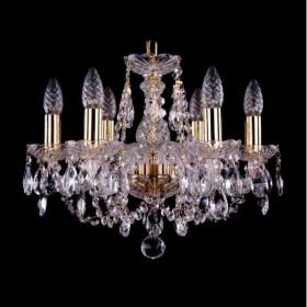 Люстра Bohemia Ivele Crystal 1406/6/141/G