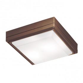 Уличный настенно-потолочный светильник Viokef Leros SQ 4049303
