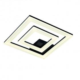 Светильник потолочный IDLamp Sevilia 407/2PF-LEDBlack