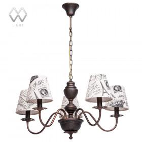 Люстра MW-Light Вирджиния 444010505