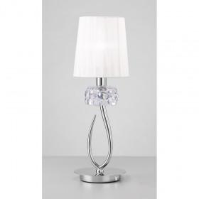 Лампа настольная Mantra Loewe Chrome 4637