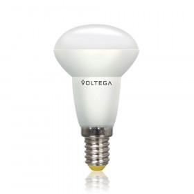 Светодиодная лампа рефлектор (спот) R5O Voltega 220V E14 5.4W (соответствует 60 Вт) 430Lm 2800K (теплый белый) 5755