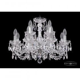 Люстра Bohemia Ivele Crystal 1402/8+4/195/Ni