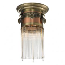 Светильник потолочный N-Light 664-03-53 Antique Brass