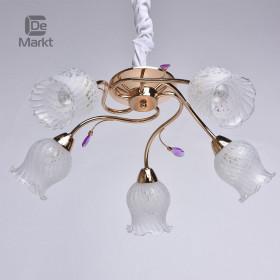 Светильник потолочный DeMarkt Флора 24 670010605