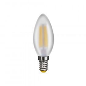 Светодиодная лампа свеча Voltega 220V E14 4W (соответствует 35 Вт) 350Lm 2800K (теплый белый) 6999