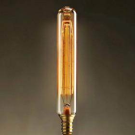 Ретро лампа накаливания (цилиндр) Loft It E14 40W 220V 740-H