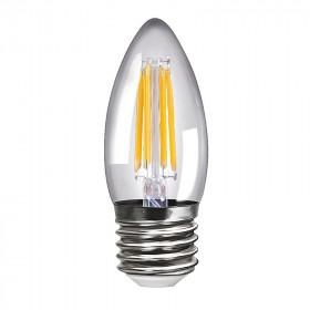 Светодиодная лампа свеча Voltega 220V E27 4W (соответствует 40 Вт) 420Lm 4000K (белый) 8335