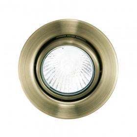 Светильник точечный Eglo Einbauspot GU10 87380