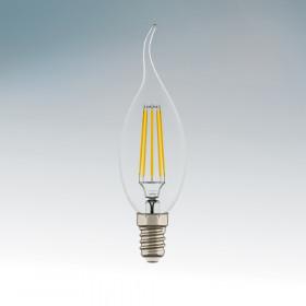 Светодиодная лампа Lightstar 220V E14 6W (соответствует 55 Вт) 2800K (теплый белый) 933602