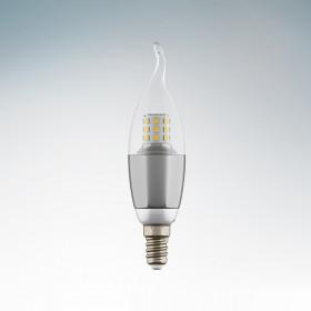 Светодиодная лампа Lightstar 220V CA35 E14 7W=70W 60G CL/CH 4200K (белый) 940644