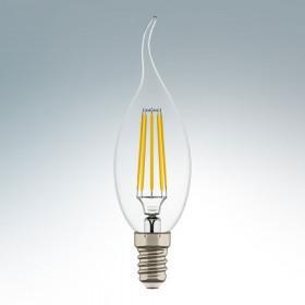 Светодиодная лампа Lightstar 220V CA35 E14 4W (соответствует 40 Вт) 360G CL 2800K (белый) 940662