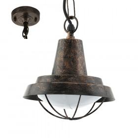 Уличный потолочный светильник Eglo Colindres 94837