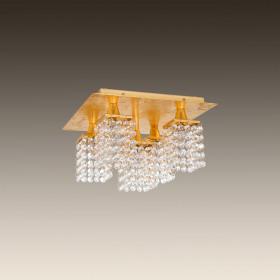 Светильник потолочный Eglo Pyton Gold 97721