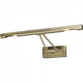 Подсветка для картины N-Light 9953/2*20W Antique Brass