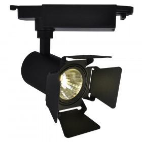 Трековый светильник Arte Falena A6709PL-1BK