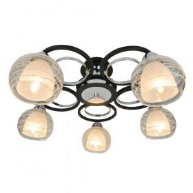 Светильник потолочный Arte Ginevra A1604PL-5BK